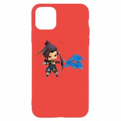 Чехол для iPhone 11 Pro Max Overwatch Hanzo Chibi
