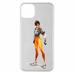 Чехол для iPhone 11 Pro Max Overwatch Tracer Character