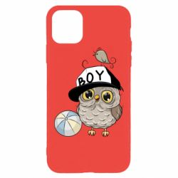 Чехол для iPhone 11 Pro Max Owl with a ball