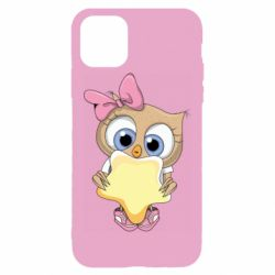 Чехол для iPhone 11 Pro Max Owl with a star