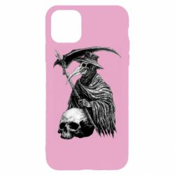 Чехол для iPhone 11 Pro Max Plague Doctor graphic arts