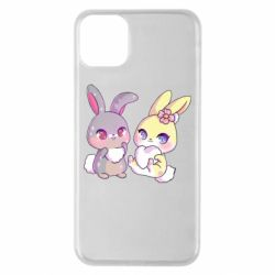 Чохол для iPhone 11 Pro Max Rabbits In Love