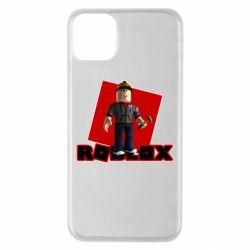 Чехол для iPhone 11 Pro Max Roblox Builderman