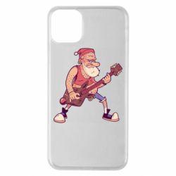 Чохол для iPhone 11 Pro Max Rock'n'roll Santa