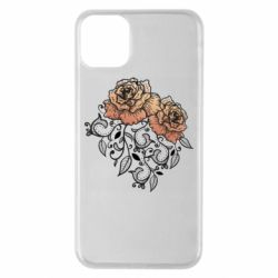 Чохол для iPhone 11 Pro Max Roses with patterns