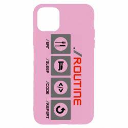 Чохол для iPhone 11 Pro Max Routine code