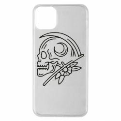 Чохол для iPhone 11 Pro Max Skull with scythe