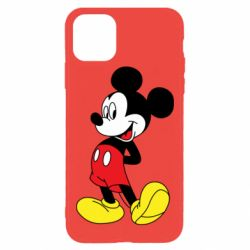 Чехол для iPhone 11 Pro Max Smiling Mickey