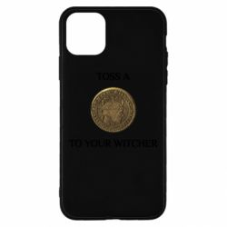 Чохол для iPhone 11 Pro Max Toss a coin to your witcher ( орен )