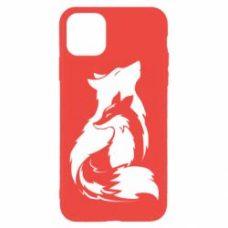Чехол для iPhone 11 Pro Max Wolf And Fox