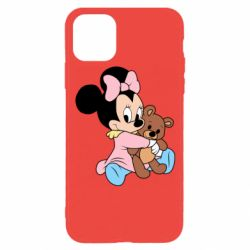 Чохол для iPhone 11 Pro Minnie And Bear