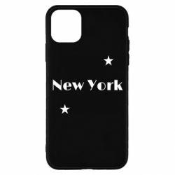 Чехол для iPhone 11 Pro New York and stars