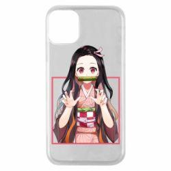 Чохол для iPhone 11 Pro Nezuko