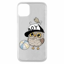 Чехол для iPhone 11 Pro Owl with a ball
