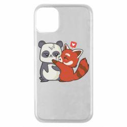 Чохол для iPhone 11 Pro Panda and fire panda