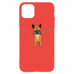 Чехол для iPhone 11 Pro Puppy On The Rope