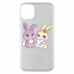 Чохол для iPhone 11 Pro Rabbits In Love