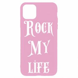 Чехол для iPhone 11 Pro Rock my life