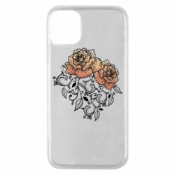 Чохол для iPhone 11 Pro Roses with patterns