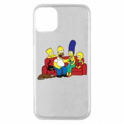 Чехол для iPhone 11 Pro Simpsons At Home