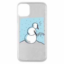 Чохол для iPhone 11 Pro Snowman. It's Cold!