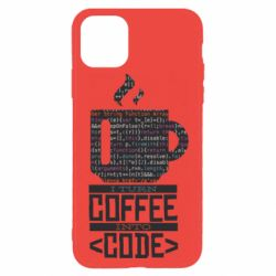 Чохол для iPhone 11 Pro Сoffee code