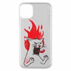 Чохол для iPhone 11 Pro The cat is mad