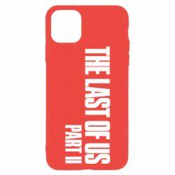 Чехол для iPhone 11 Pro The last of us part 2 logo