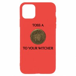 Чохол для iPhone 11 Pro Toss a coin to your witcher ( орен )