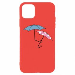 Чехол для iPhone 11 Pro Umbrella love Color