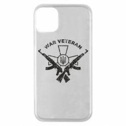 Чохол для iPhone 11 Pro Veteran machine gun