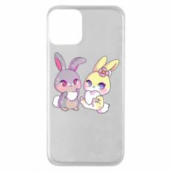 Чохол для iPhone 11 Rabbits In Love