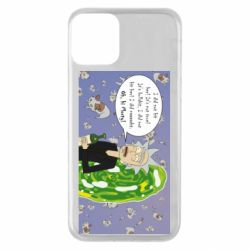 Чехол для iPhone 11 Rick Wiseau