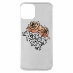 Чохол для iPhone 11 Roses with patterns