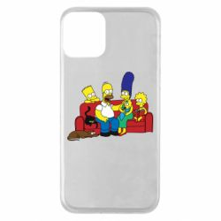 Чехол для iPhone 11 Simpsons At Home