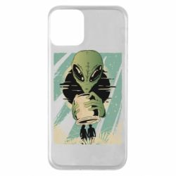 Чохол для iPhone 11 Alien with a can