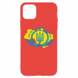 Чохол для iPhone 11 Україна Мапа