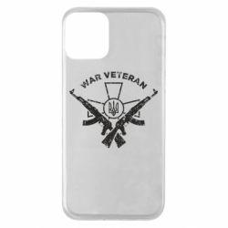 Чохол для iPhone 11 Veteran machine gun