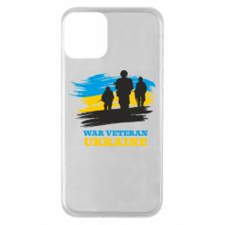 Чохол для iPhone 11 War veteran оf Ukraine