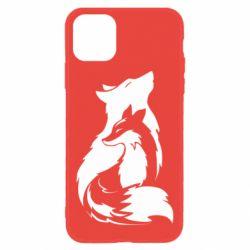 Чехол для iPhone 11 Wolf And Fox