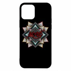 Чехол для iPhone 12/12 Pro AC/DC Art Logo