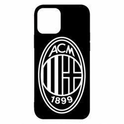 Чохол для iPhone 12/12 Pro AC Milan logo