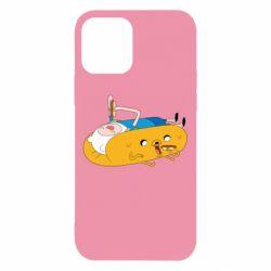 Чехол для iPhone 12/12 Pro Adventure time 4