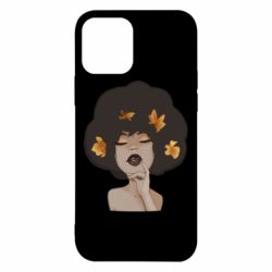 Чохол для iPhone 12/12 Pro Afro girl in autumn shades