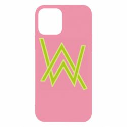 Чехол для iPhone 12/12 Pro Alan Walker neon logo