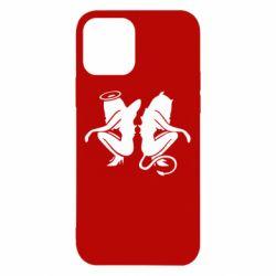 Чохол для iPhone 12/12 Pro Ангел і Демон