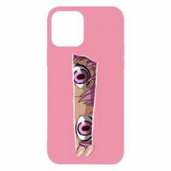 Чохол для iPhone 12/12 Pro Anime girl peeping