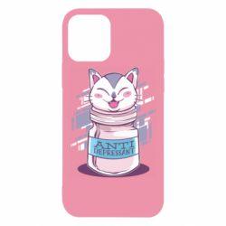 Чехол для iPhone 12/12 Pro AntiDepressant Cat