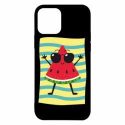 Чехол для iPhone 12/12 Pro Арбуз на пляже