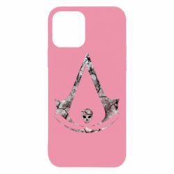 Чехол для iPhone 12/12 Pro Assassins Creed and skull